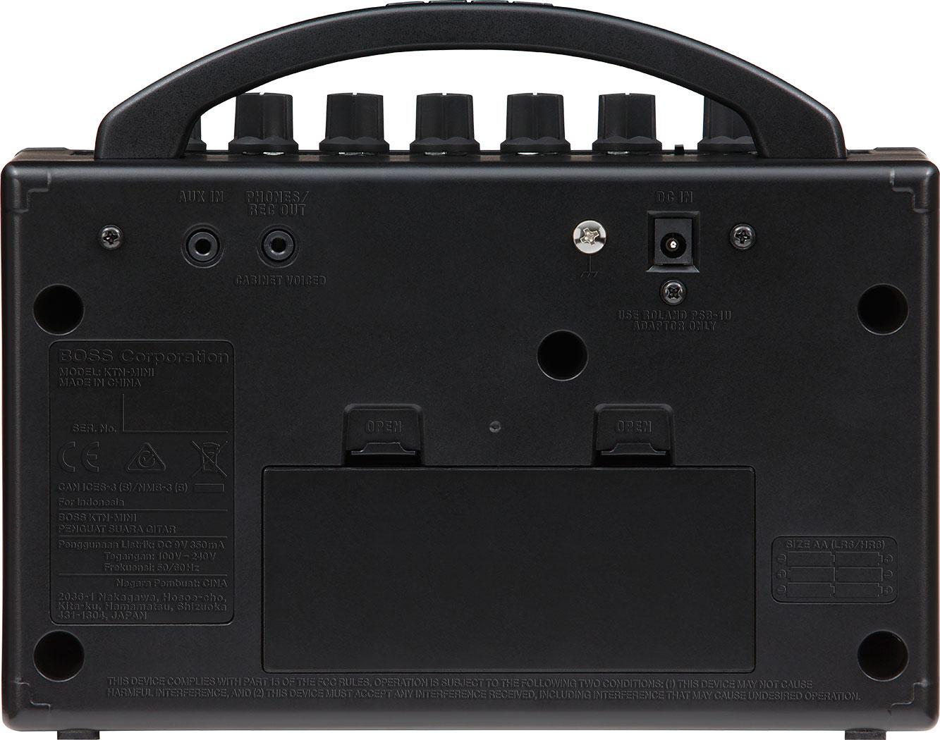 Boss Katana Mini Guitar Amplifier Metronome Circuit