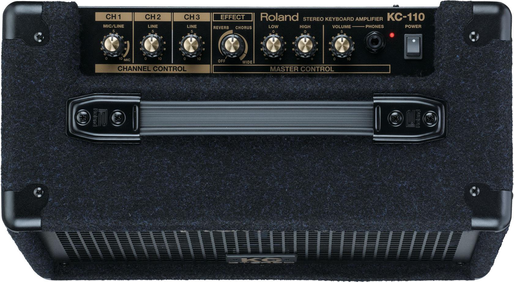 roland kc 110 stereo keyboard amplifier rh roland com Roland KC- 150 Roland KC- 110