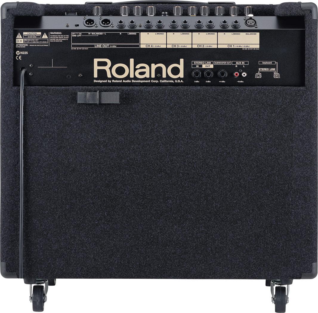 Schema Collegamento Xlr : Roland kc 550 4 ch mixing keyboard amplifier