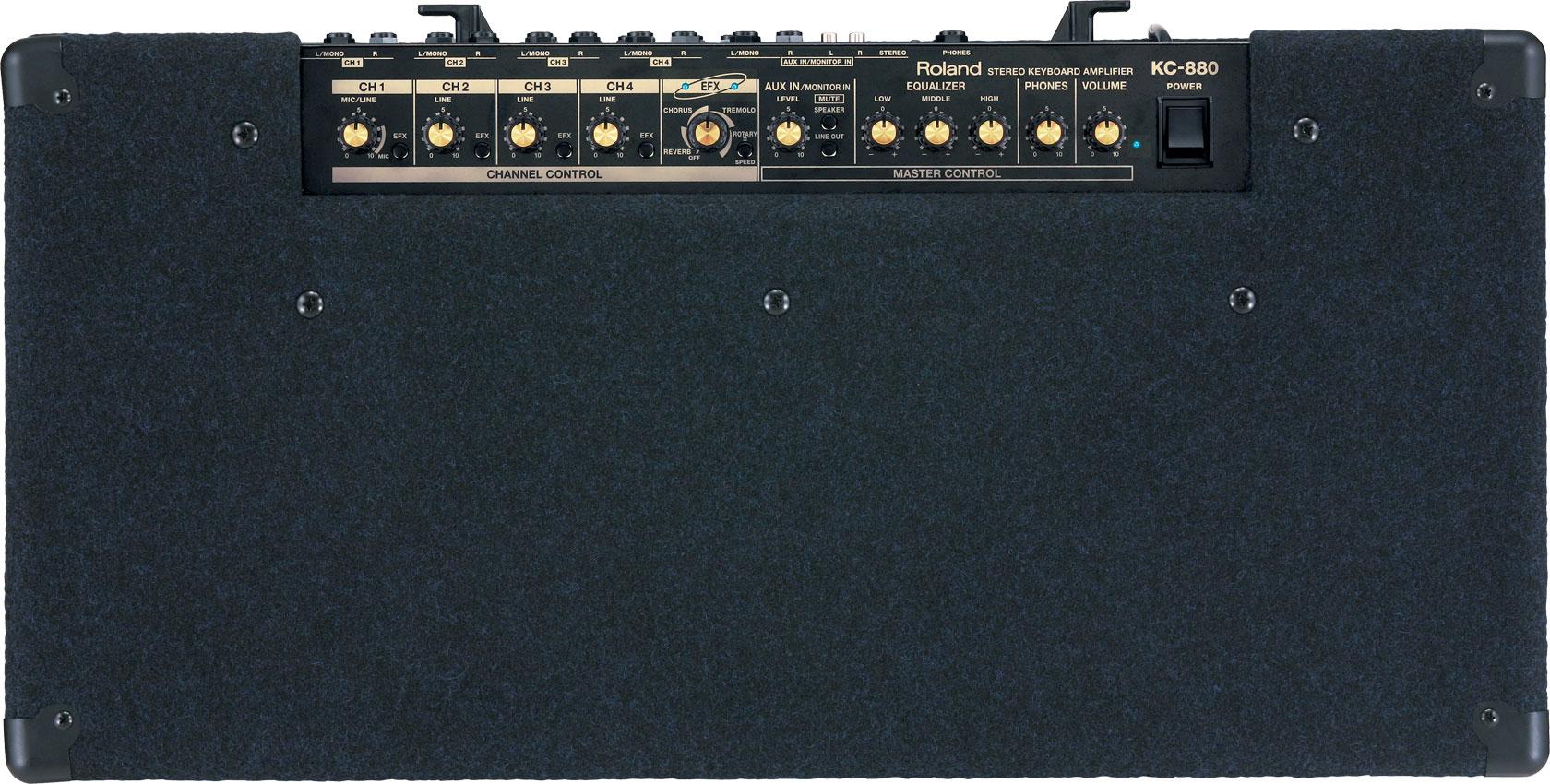 roland kc 880 stereo mixing keyboard amplifier rh roland com Roland KC- 110 Roland KC- 550