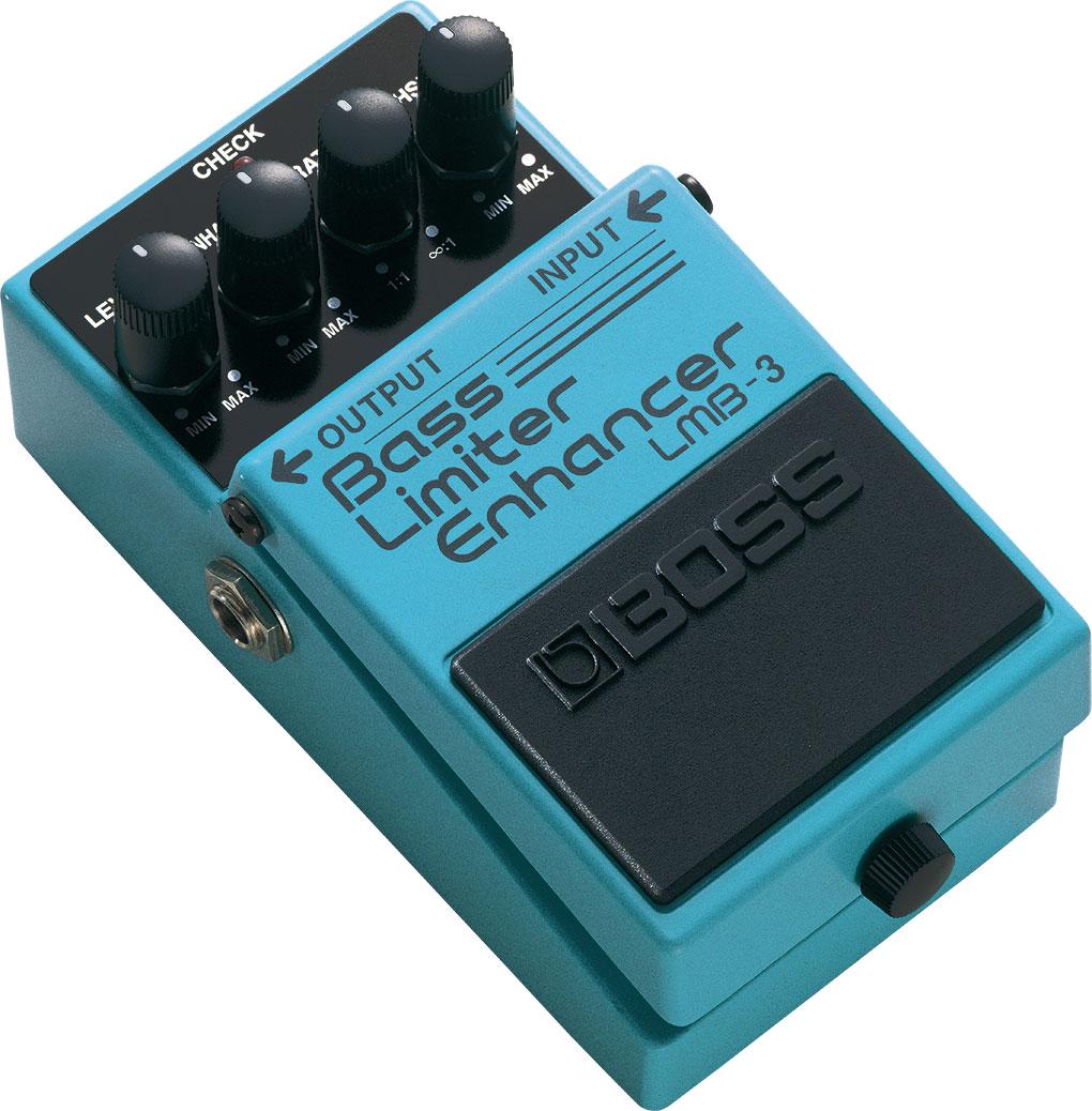 Boss Lmb 3 Bass Limiter Enhancer Voltage For Guitar Amplifiers