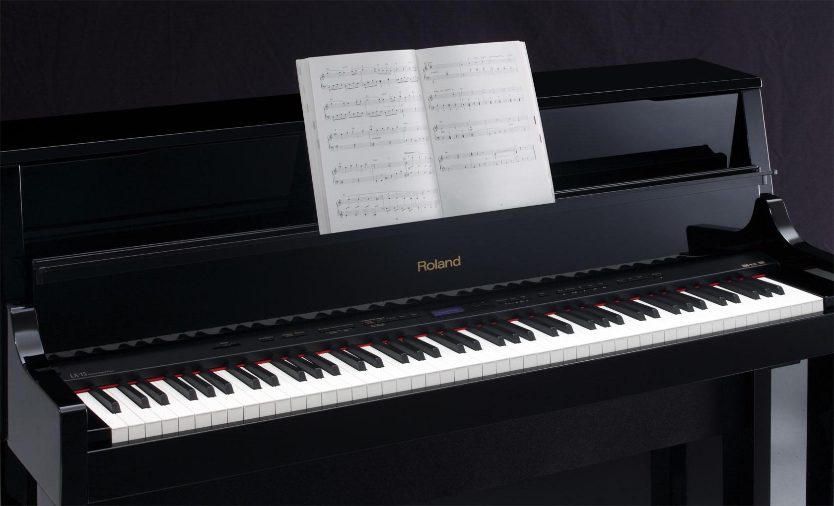 roland lx 15 roland piano digital. Black Bedroom Furniture Sets. Home Design Ideas