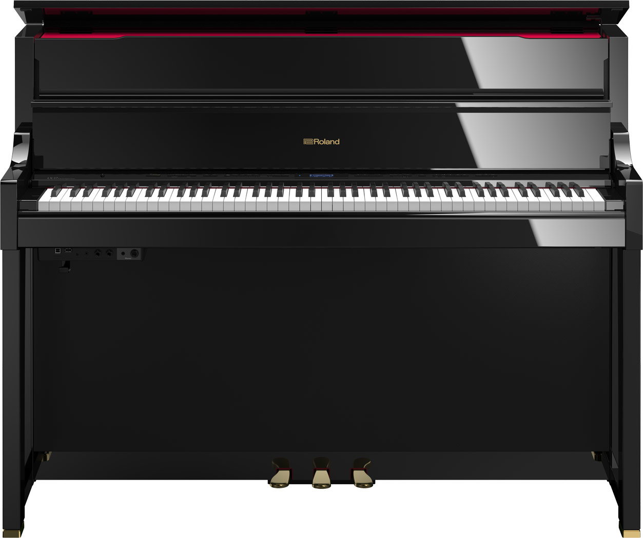 roland lx 17 digital piano. Black Bedroom Furniture Sets. Home Design Ideas