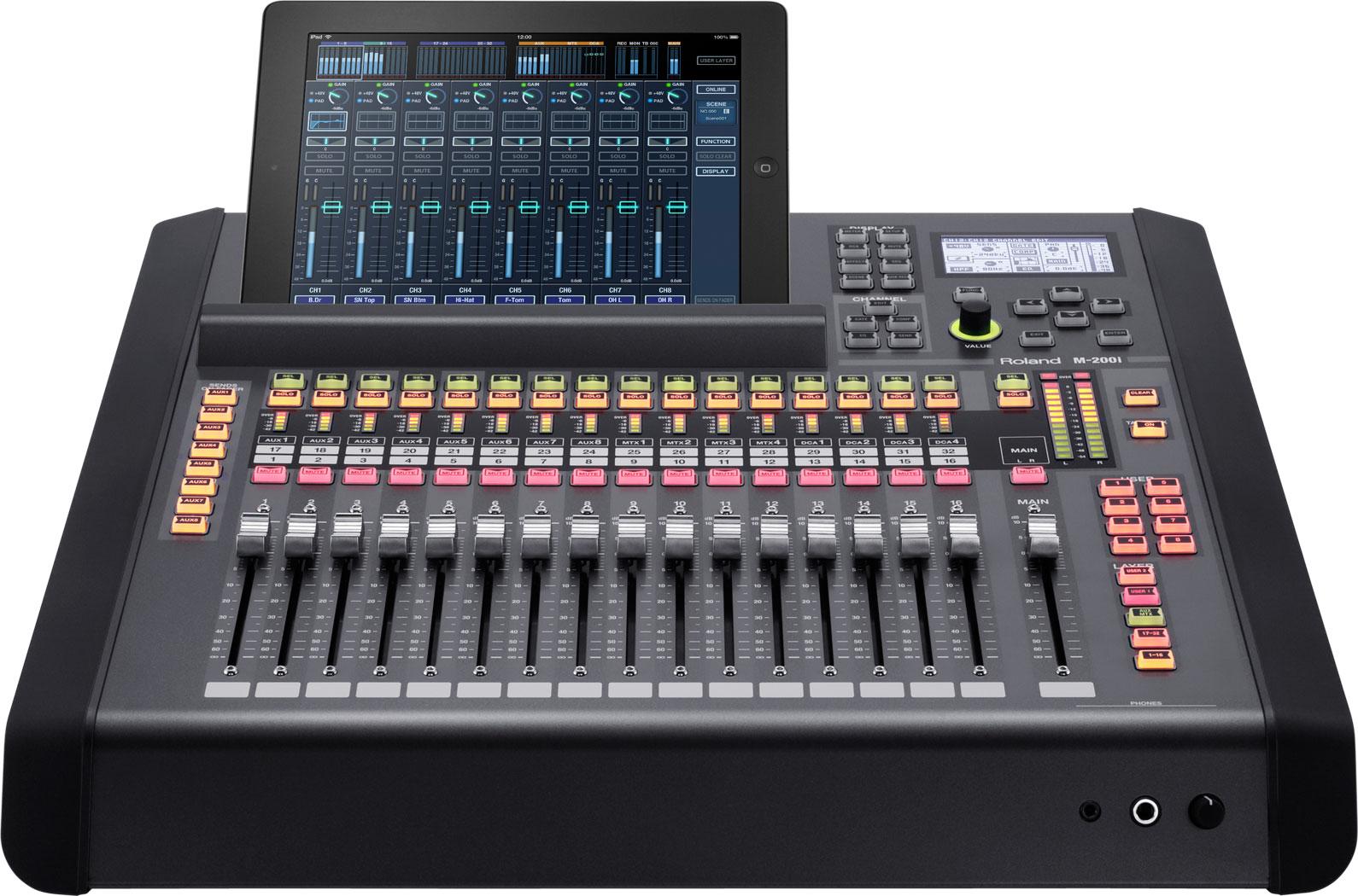 Roland Pro A/V - M-200i | Consola mezcladora digital con 32