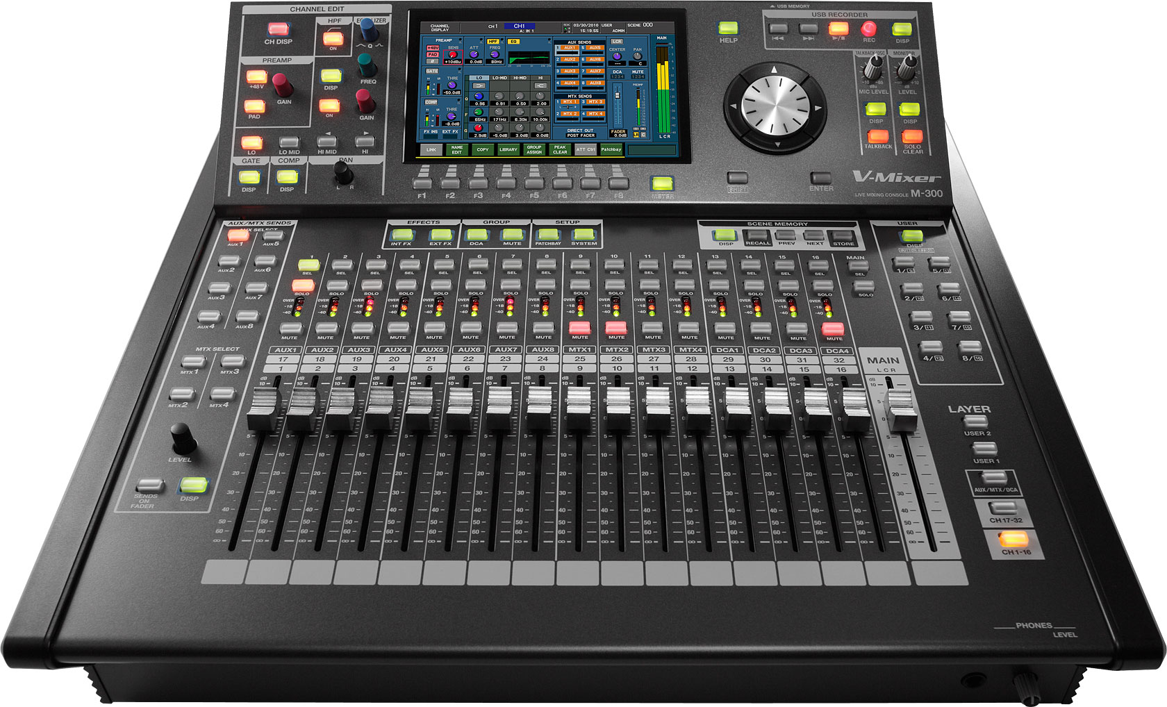 Roland Pro A/V - M-300 | 32-Channel Live Digital Mixing Console