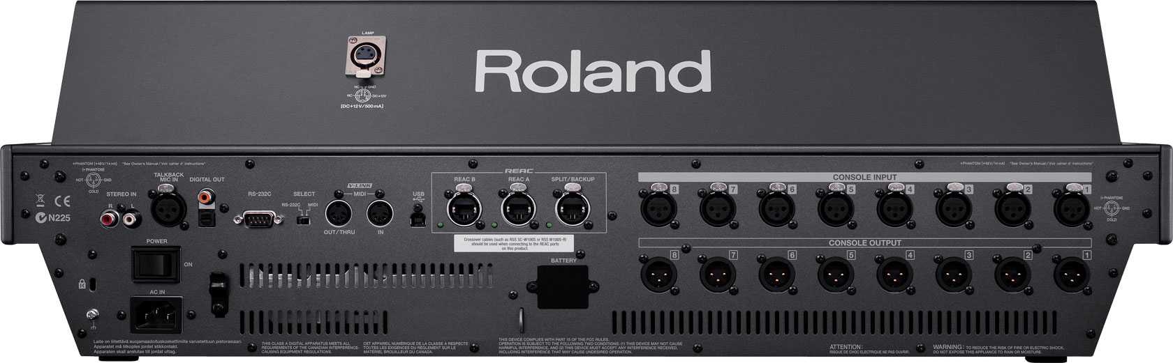 Hear Technologies Hookup Diagrams Stereo Live 16 Channels Of Roland Pro A V M 480 48 Channel Digital Mixing Console