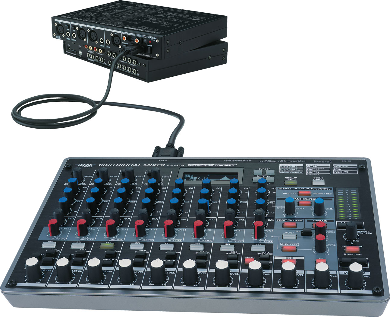 roland m 16dx 16 channel digital mixer. Black Bedroom Furniture Sets. Home Design Ideas