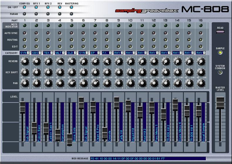Roland MC-808 image (#721697) - Audiofanzine
