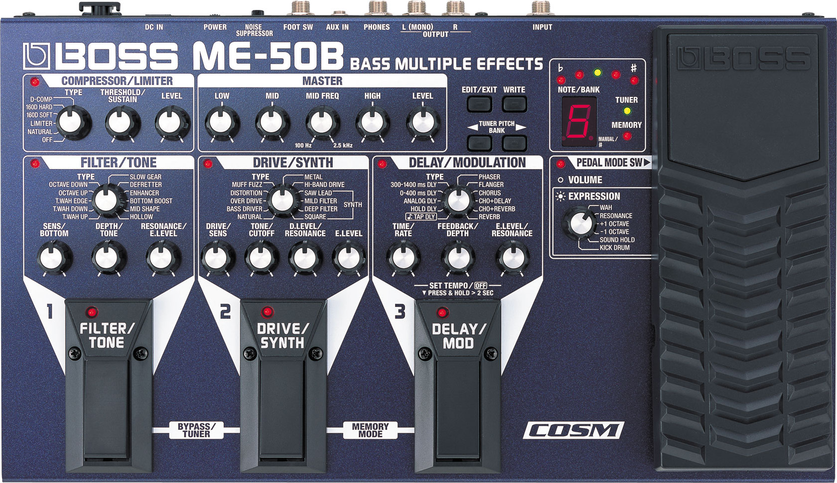 boss me 50b bass multiple effects rh boss info manual de pedalera boss me-50 en español manual de pedal boss me-50
