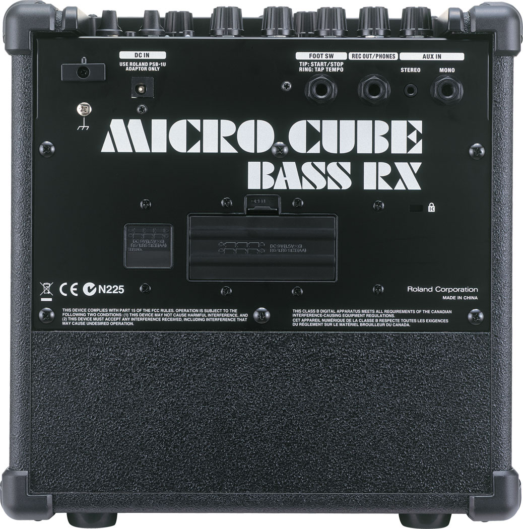 Roland Micro Cube Bass Rx Amplifier Accurate Tone Control