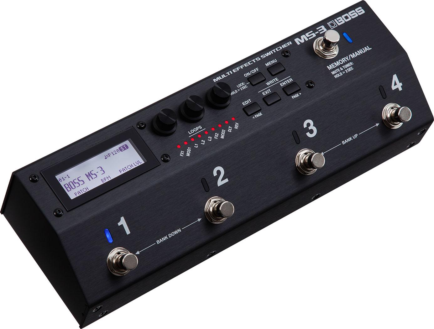 BOSS - MS-3 | Multi Effects Switcher