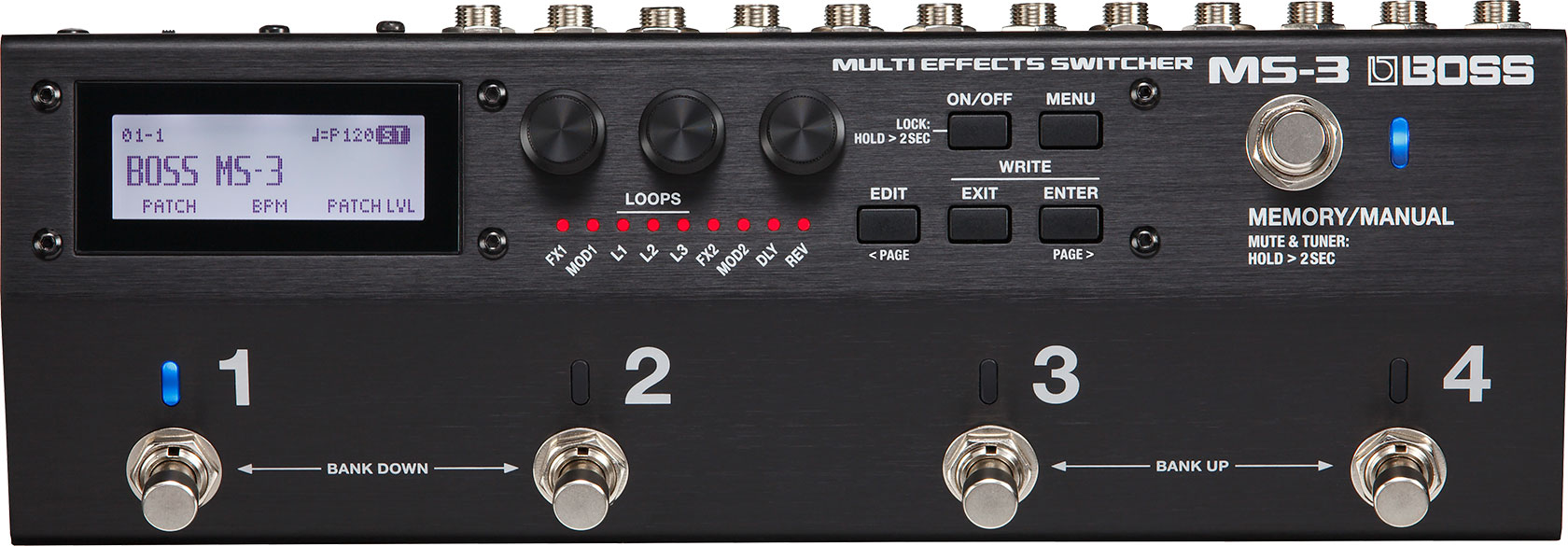 Boss Ms 3 Multi Effects Switcher Guitar Wiring Site