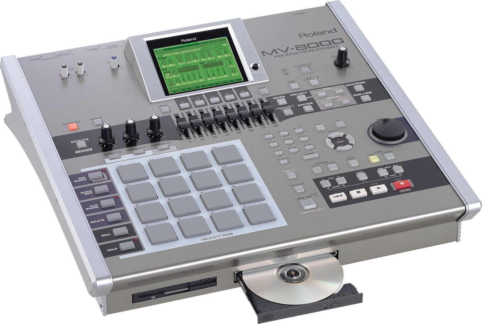 Roland - MV-8000 | Production Studio