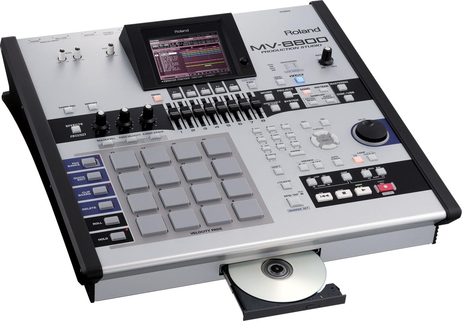 Roland - MV-8800 | Production Studio