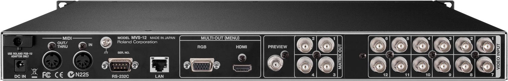 Roland Pro A/V - MVS-12 | Multi-Viewer / Switcher
