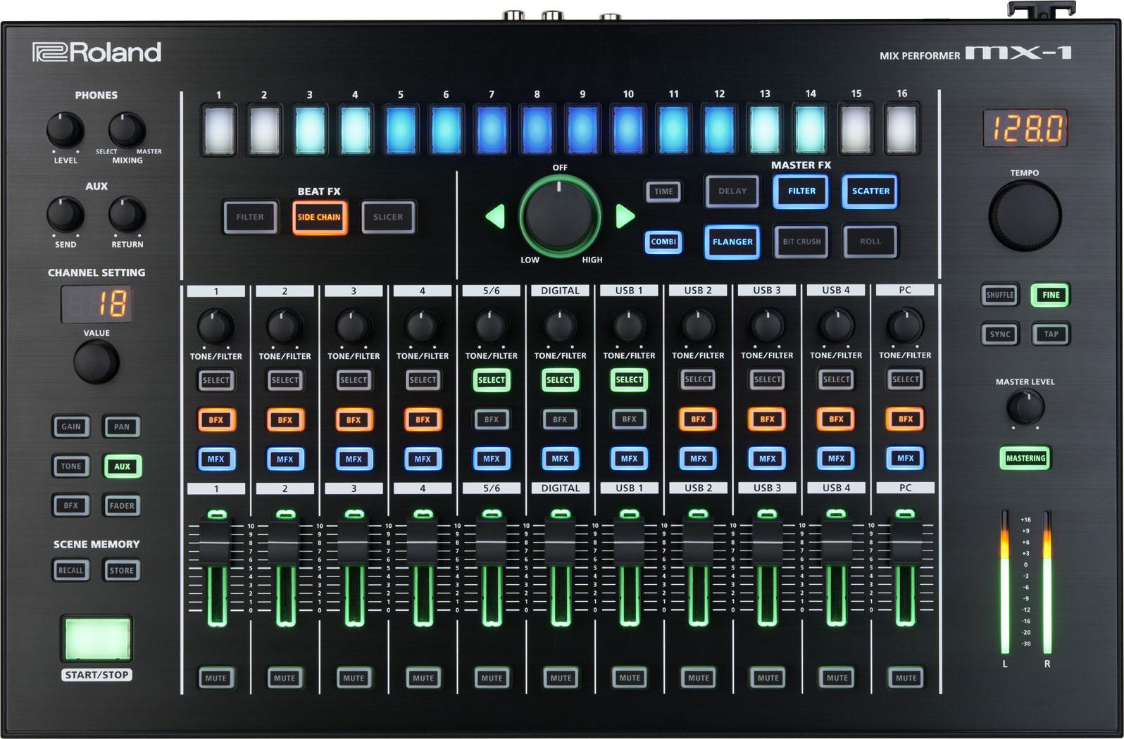 Roland Mx 1 Mix Performer Snapshoot Of Studio Series Stereo Headphone Amplifier Circuit