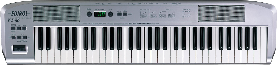 Roland - PC-80 | USB MIDI Keyboard Controller