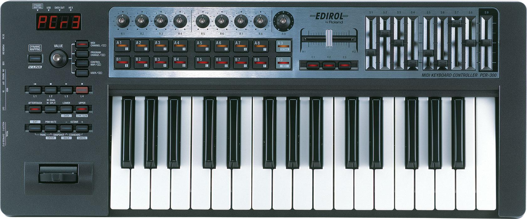 Roland Pcr 300 Usb Midi Keyboard Controller