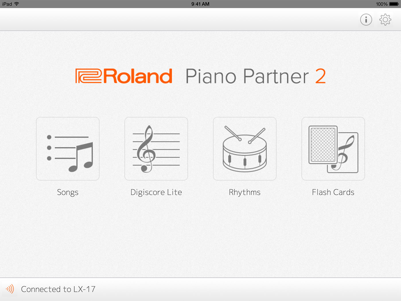 Roland - Piano Partner 2 Version 2 0 | iOS/Android App