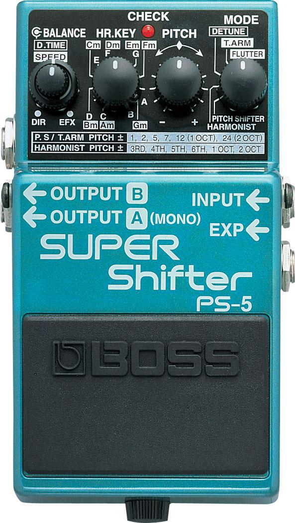 boss ps 5 super shifter