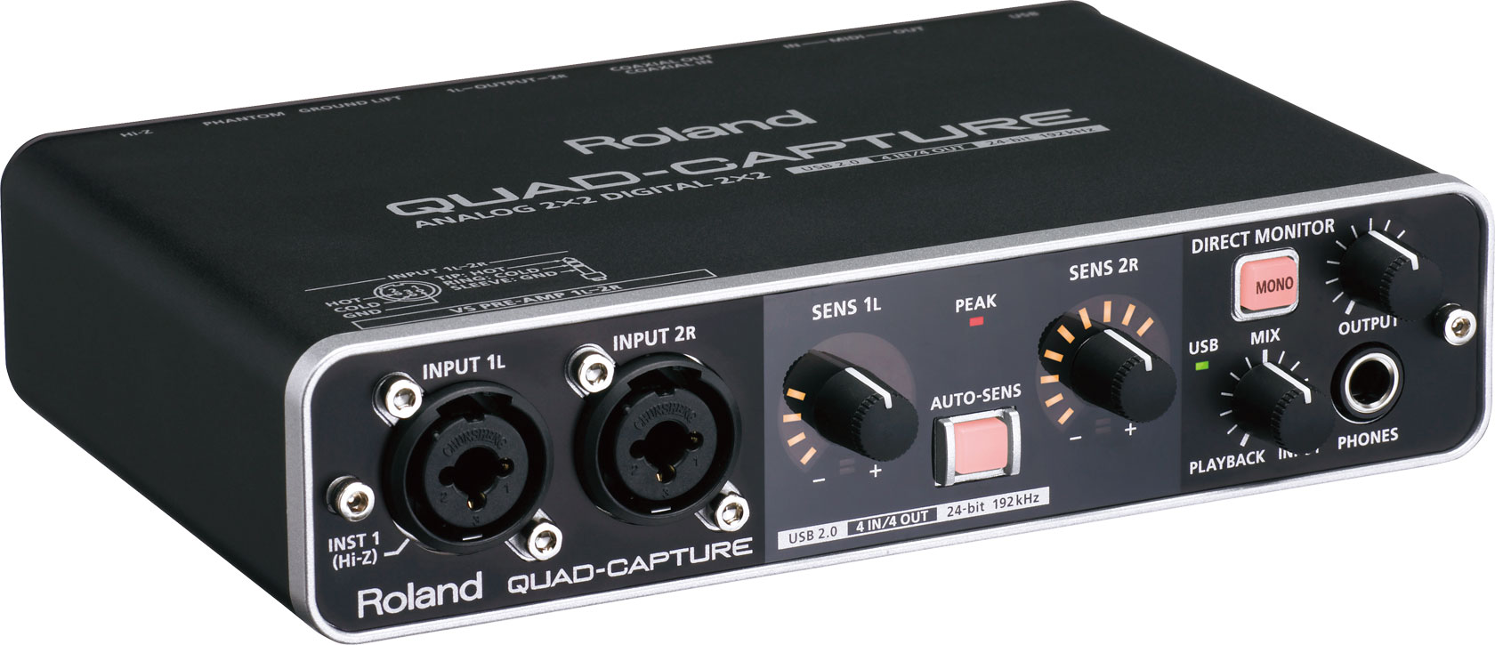 Roland - QUAD-CAPTURE | USB 2.0 Audio Interface