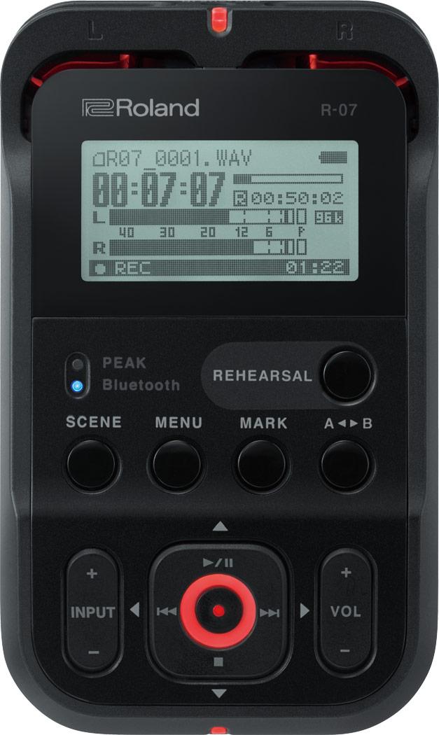 R-07 High-Resolution Audio Recorder