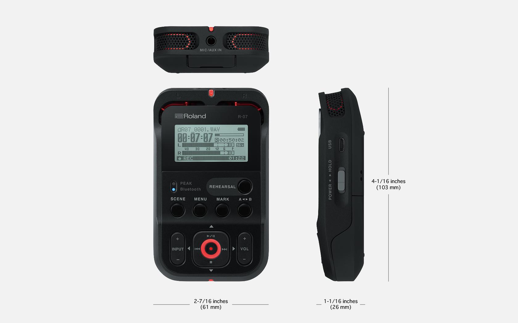 High-Resolution Audio Recorder
