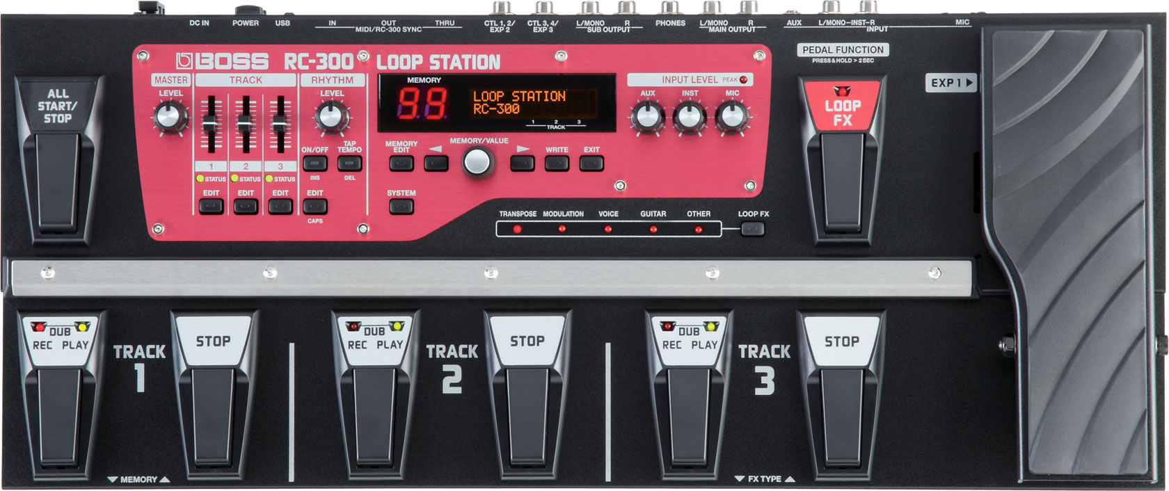 Boss Rc 300 Loop Station To Usb Also Trs Jack Wiring Diagram For 1 4