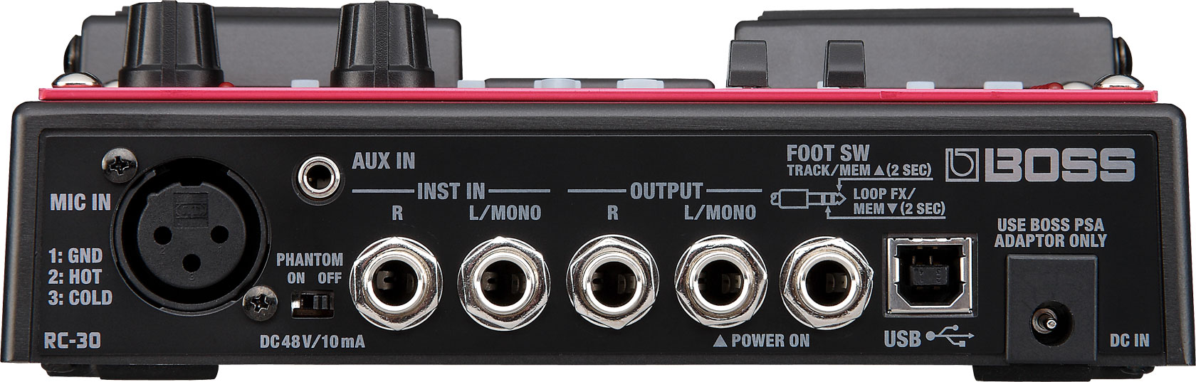 Boss Rc 30 Loop Station 2 Way Video Switch