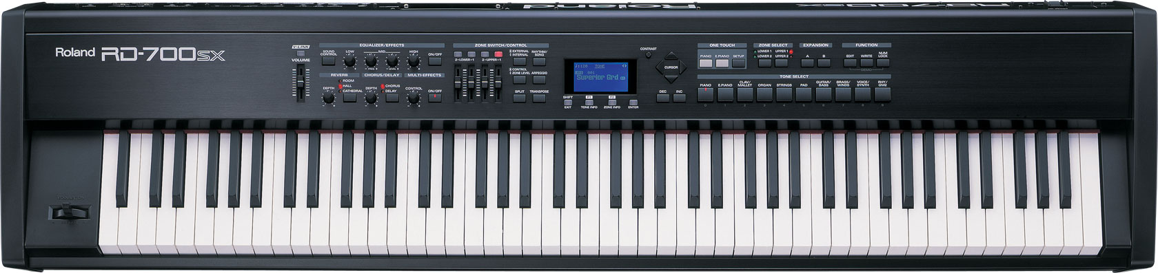 Roland - RD-700SX   Digital Stage Piano