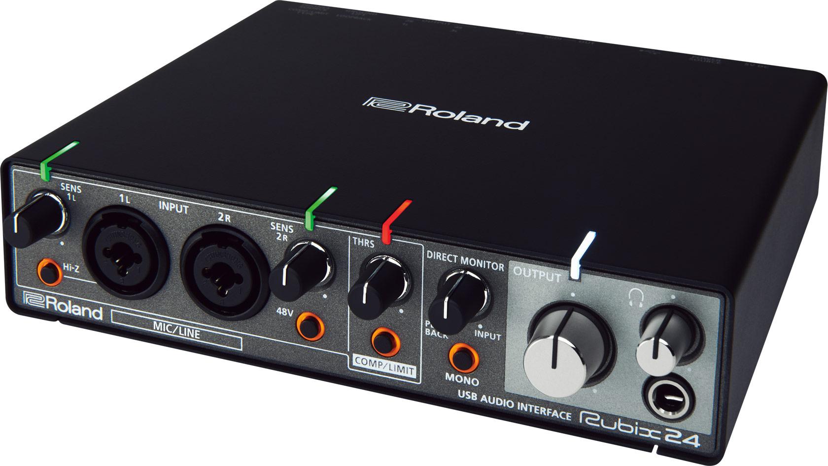 roland rubix24 usb audio interface. Black Bedroom Furniture Sets. Home Design Ideas