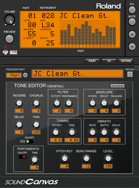 Roland - Sound Canvas VA | Software Synthesizer