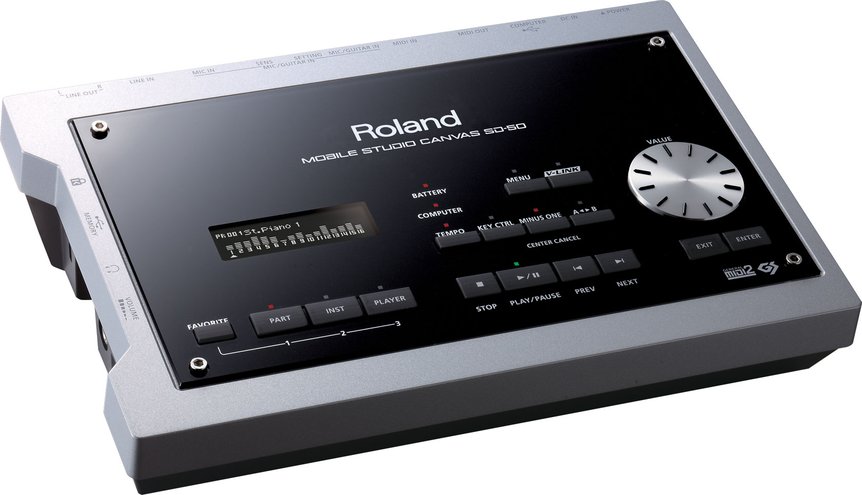 Roland - Mobile Studio Canvas | Sound Module with DAW Software