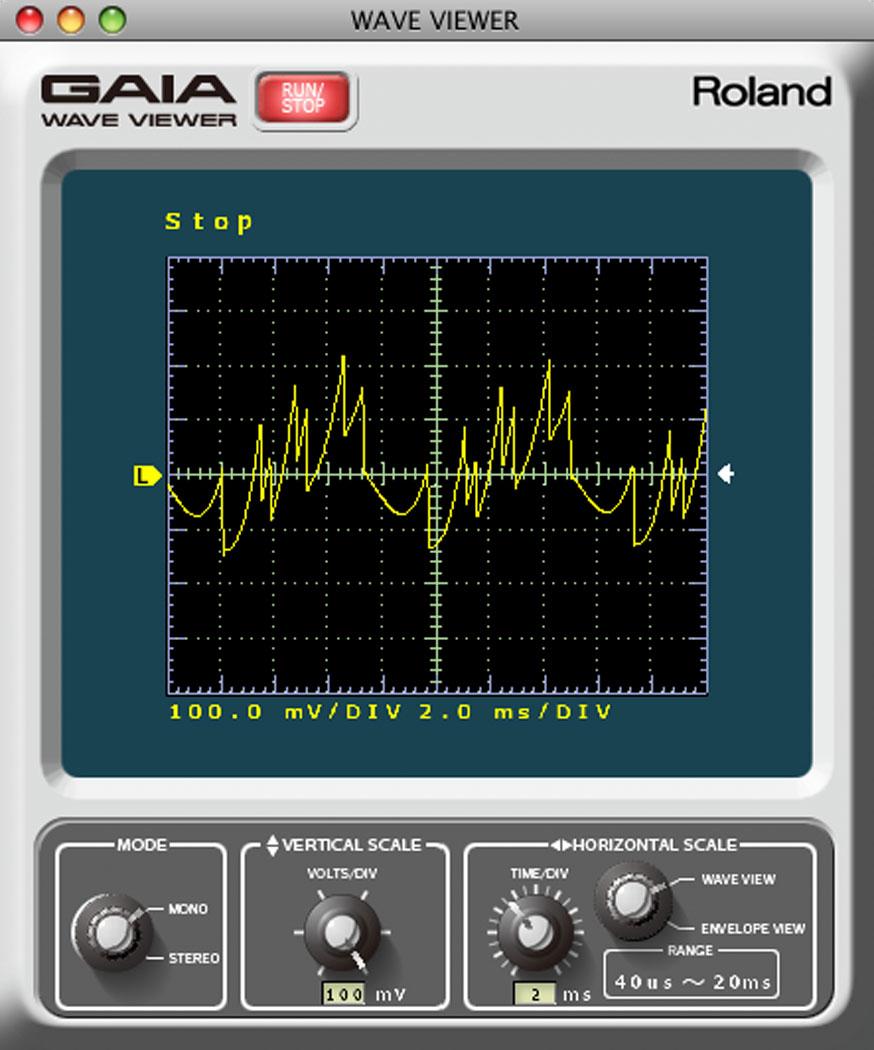 Roland Gaia Synthesizer Sound Designer Software For Sh 01