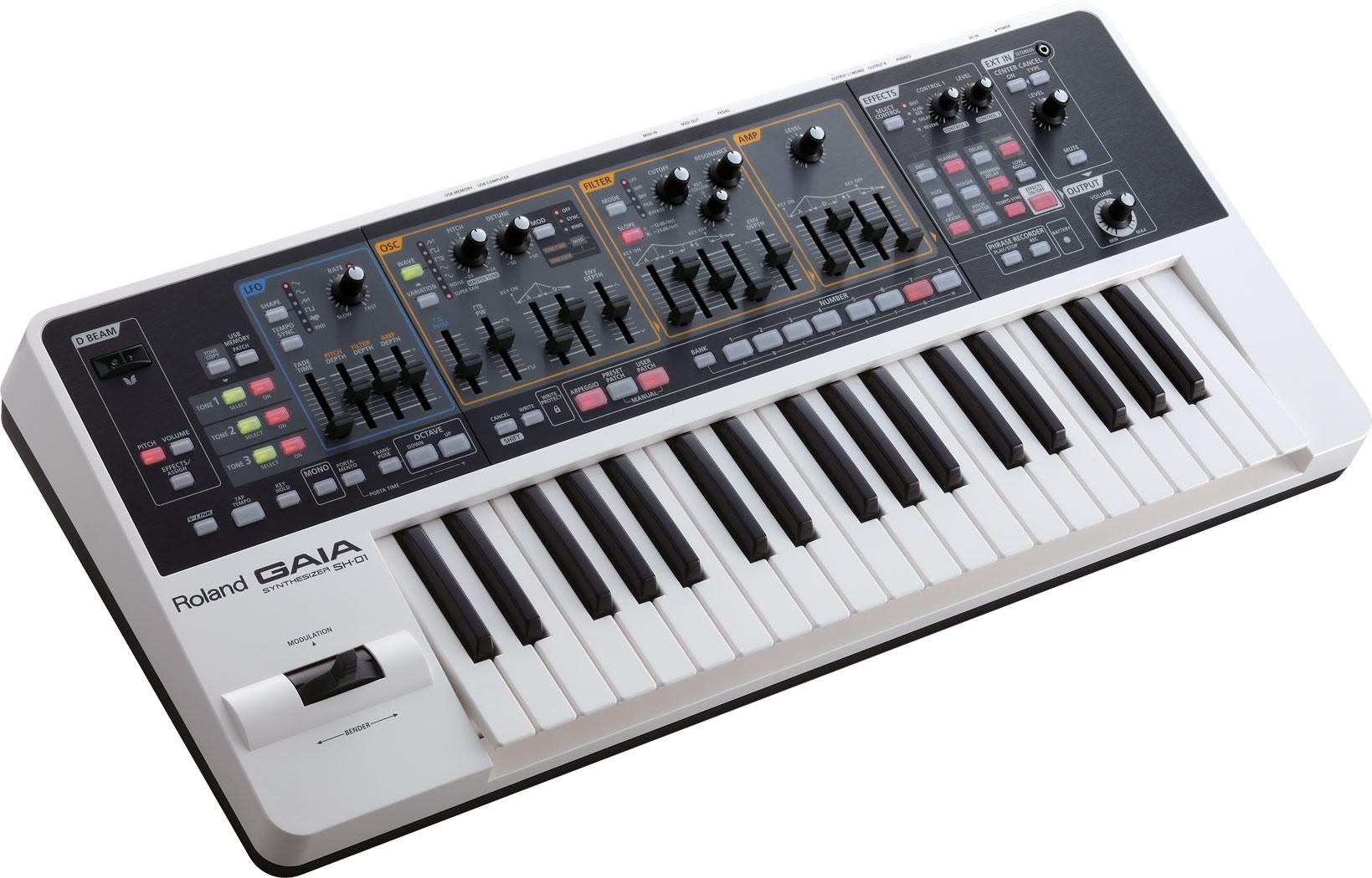 roland gaia sh 01 synthesizer