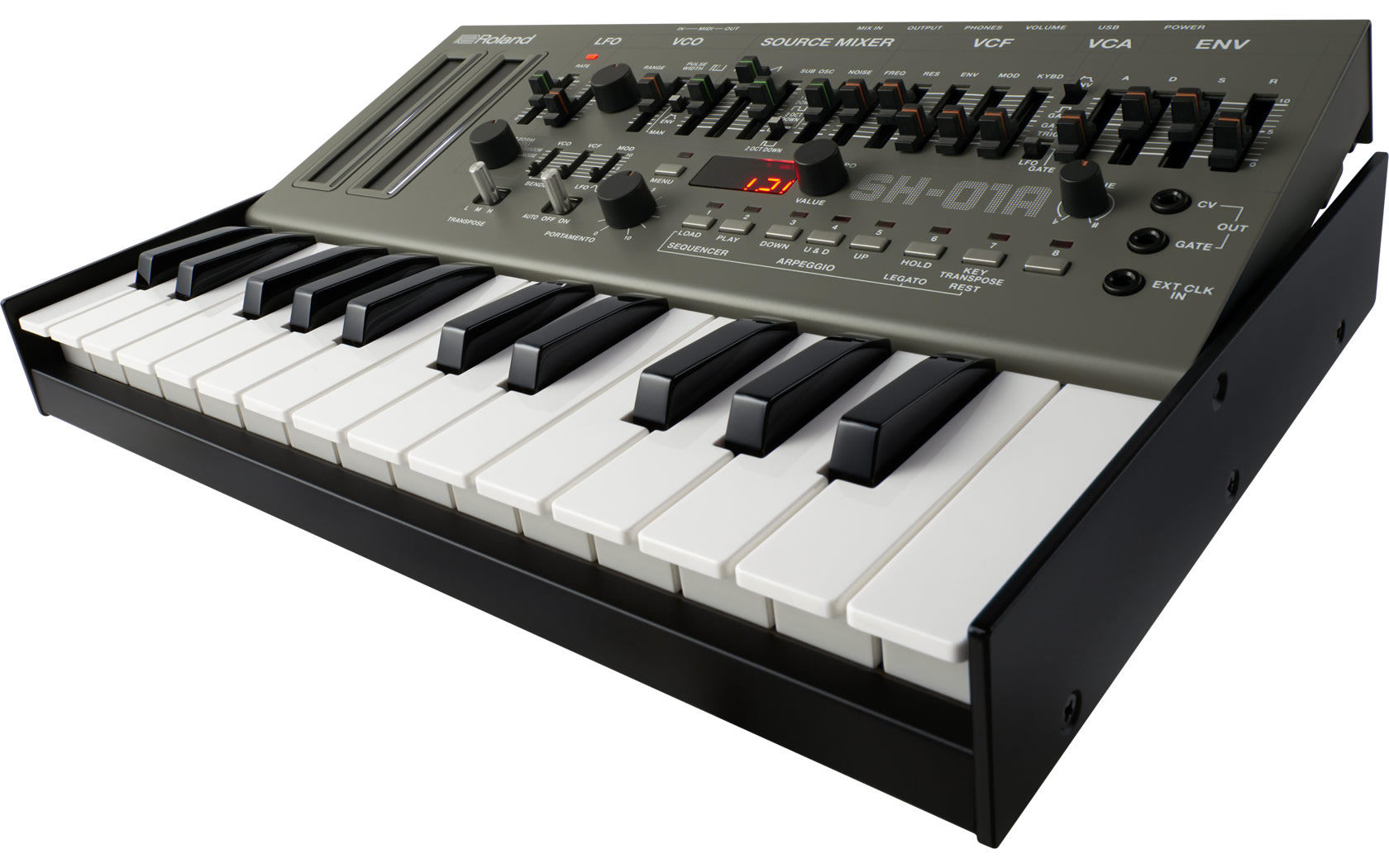 Roland Sh 01a Synthesizer Mono To Stereo