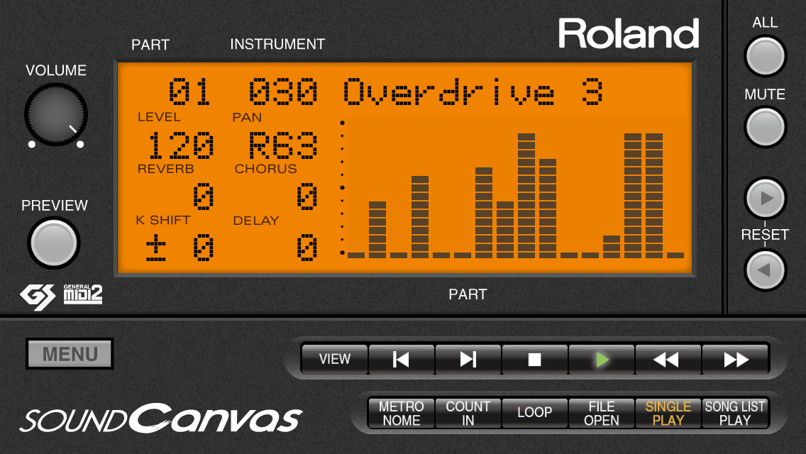Roland - Sound Canvas for iOS | Software Synthesizer with