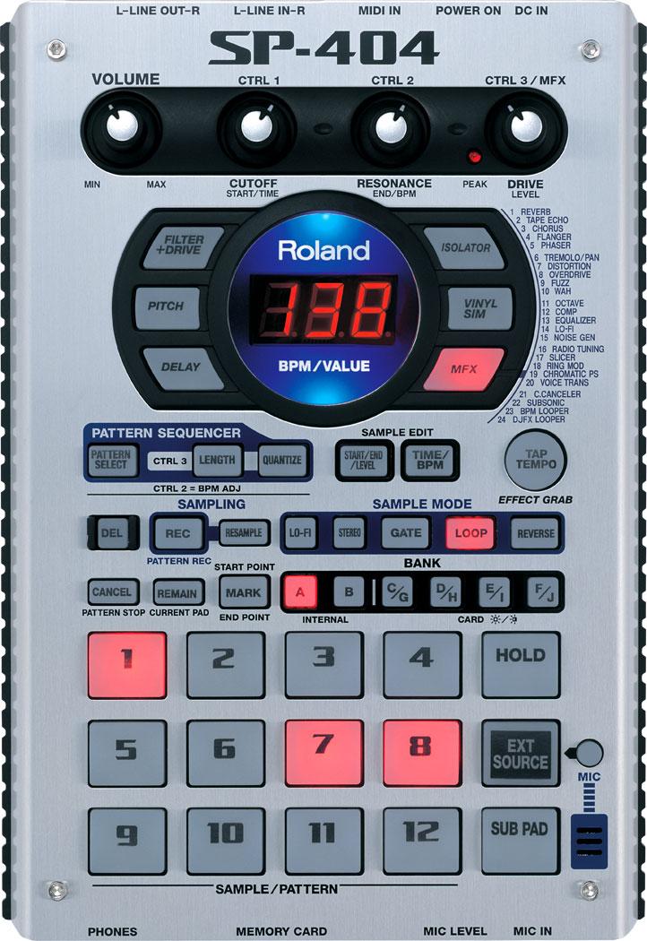 SP-404 | Sampling Workstation - Roland