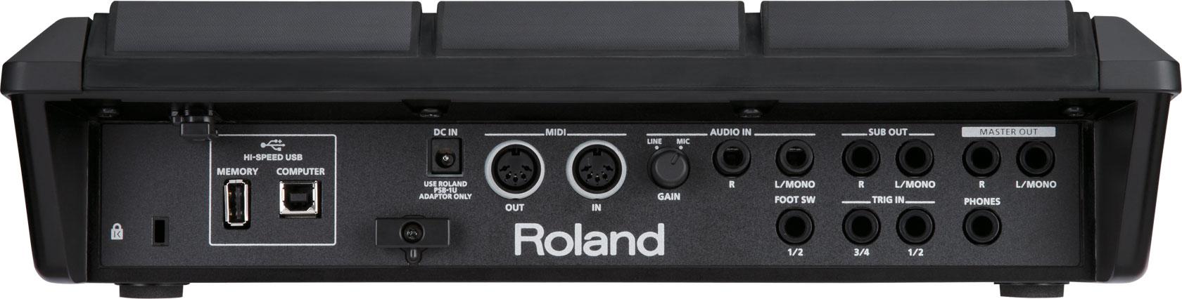 Roland spd-s | sampling pad.