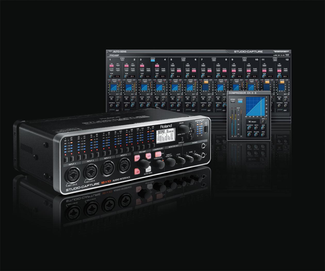 Roland Studio Capture Usb 20 Audio Interface Xlr Wiring Block Diagram Visio