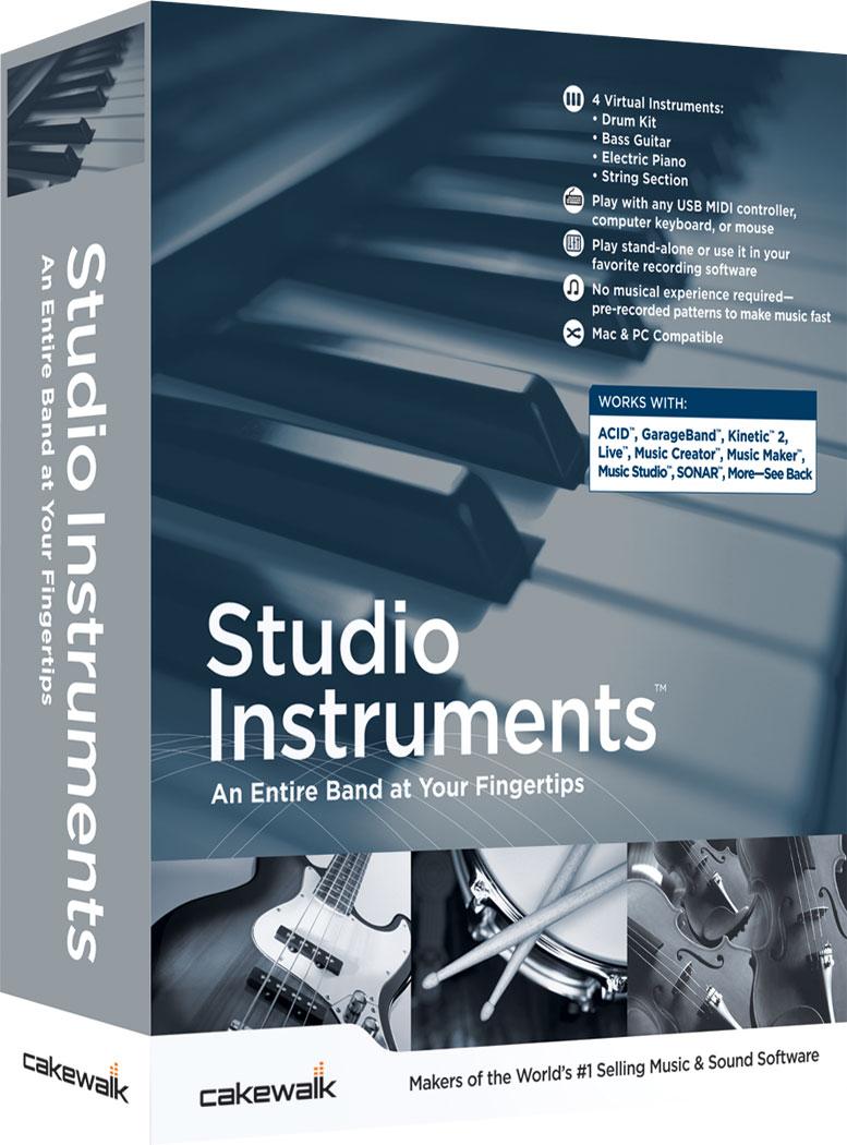 Studio Instruments | Cakewalk Music & Sound Software - Roland