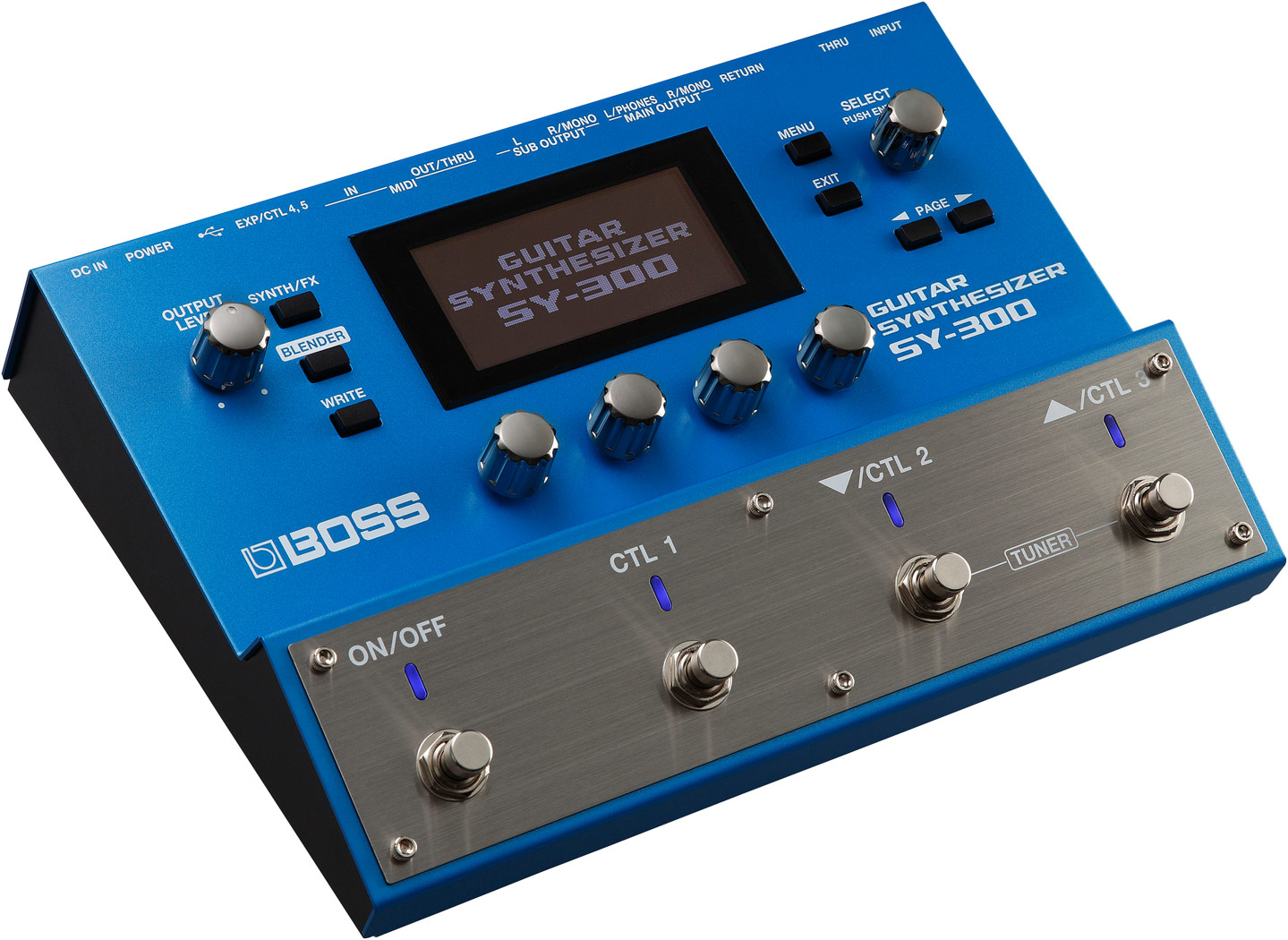 Guitar Synth Pedal >> Boss Sy 300 Guitar Synthesizer