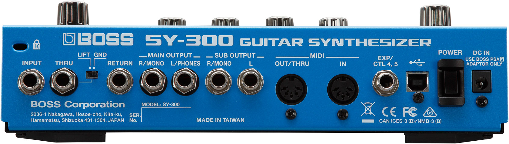 Boss Sy 300 Guitar Synthesizer