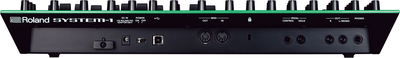 roland system 1 plug out synthesizer