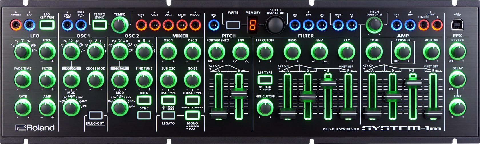 SYSTEM-1m | PLUG-OUT Synthesizer - Roland