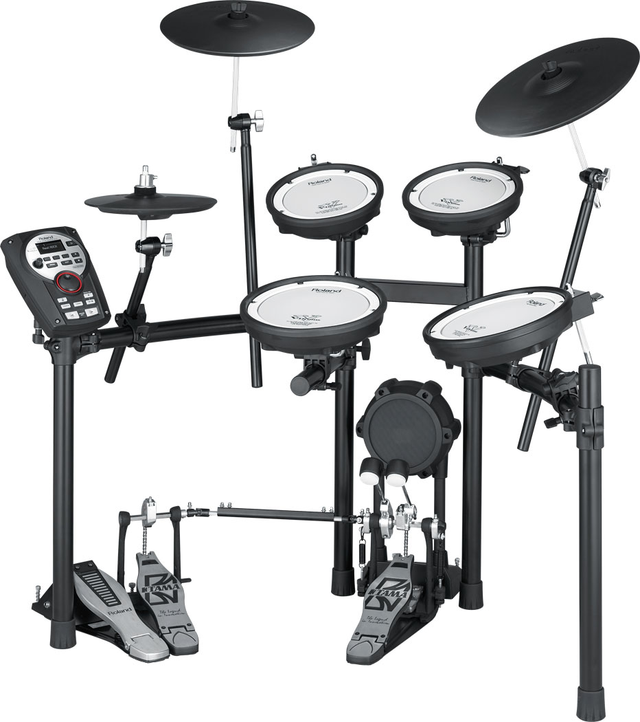 Roland Td 11kv V Drums Diagram Of A Drum Kit This Shows The Parts And Names