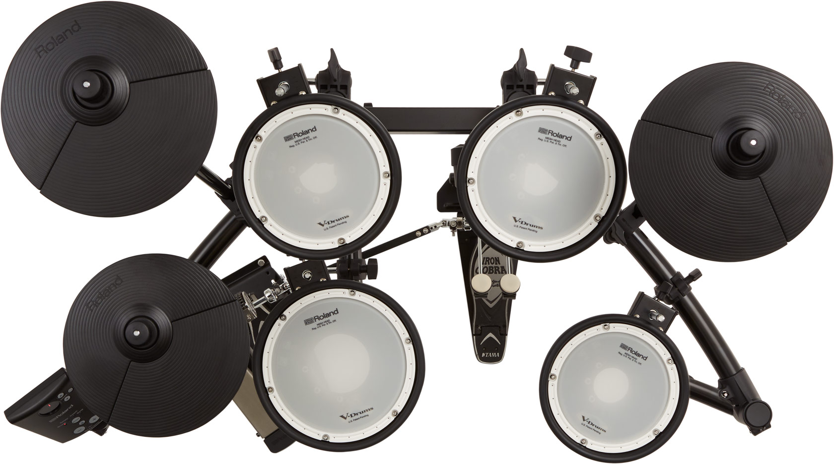 Roland TD-1DMK Electronic Drum Kit Top View