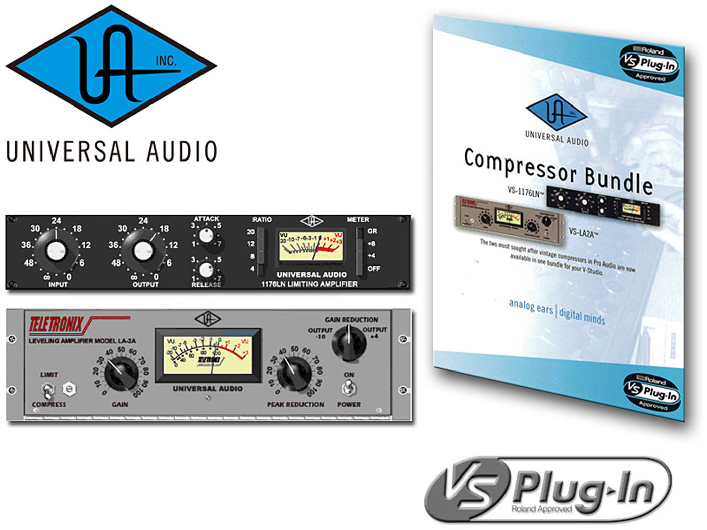 Compressor Bundle | VS Plug-In by Universal Audio - Roland