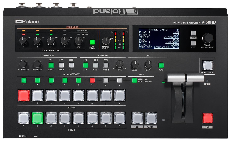 Roland Pro A/V - V-60HD | HD Video Switcher