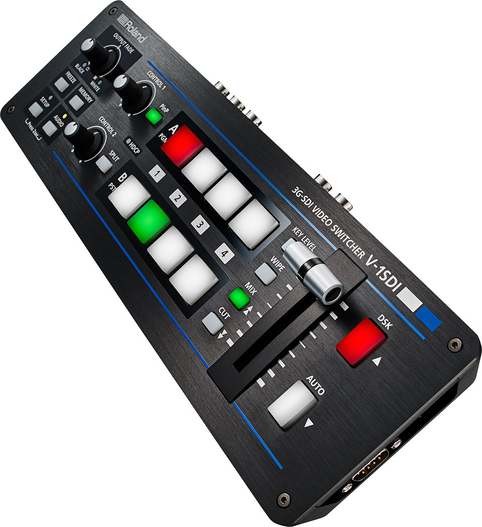 Roland Pro A V 1sdi 3g Sdi Video Switcher 4 Channel Audio Mixer Circuit